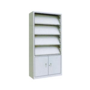 Steel Office Magazine Rack Storage Shelf (SPL MS03RC)