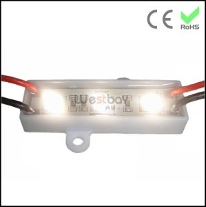 3PCS 5050 LED Module Plastic Base OEM Color 4500k