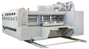 Multi-Color Automatic Corrugated Paperboard Printing Slotter (YKS)
