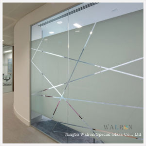 4mm Clear Frosted Gl Wall Door Parion