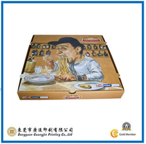 Customized Paper Pizza Packaging Box (GJ-PizzaBox031)) pictures & photos