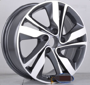 F9851 Deep Dish Wheel Car Alloy Wheel Rims for Hyundai pictures & photos