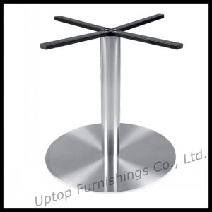 Strong Round Stainless Steel Restaurant Table Leg (SP-STL105) pictures & photos