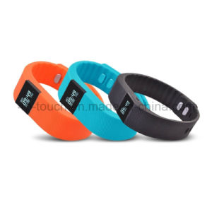 Hot-Sale Waterproof IP65 OLED Smart Bracelet with Bluetooth 4.0 (TW64) pictures & photos
