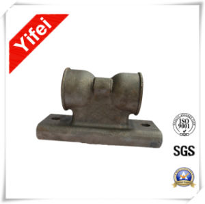 Painted Sand Casting Support Produced by Foundry pictures & photos