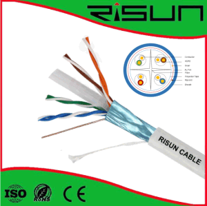 Twisted Pair Overall Shielded Cable FTP CAT6 Cable with High Quality pictures & photos