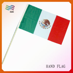 Mexico National Hand Flag (HYNF-AF019) pictures & photos