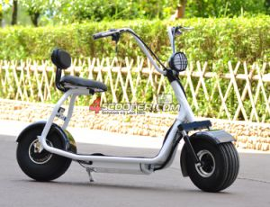 City Coco Harley Scooter, 2 Wheel Stand up Electric Scooter for Adults with Front and Rear Shock Absorbing pictures & photos