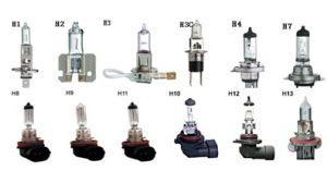 Auto Halogen Bulbs H1/H2/H3/H3c/H4/H7/H8/H9/H10/H11/H12/H13