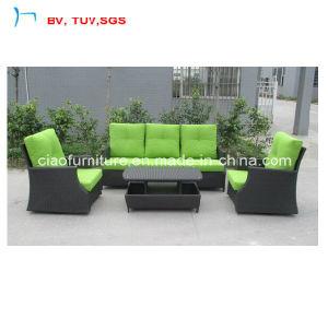 Charmant 3+2 Sofa Set With Green Colour Cushion (CF1290A)