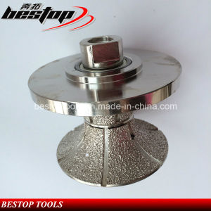 Vacuum Brazed Diamond Manual Profiling Wheel 50mm Thickness pictures & photos