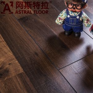 Hotsale 12mm New Product AC3 HDF Laminate Flooring (AS99807) pictures & photos