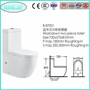 Bathroom Furniture Heavy Calibre Ceramic Toilet (8701) pictures & photos