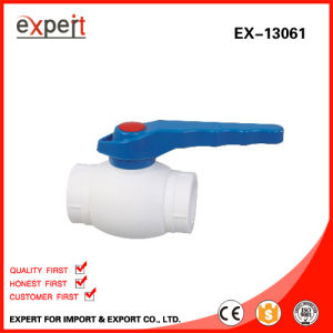 PPR Single Female Threaded Ball Valve with Brass Ball Ex-13061