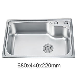 china best price ss201 stainless steel single bowl one piece kitchen rh yuxinkitchensink en made in china com kitchen sink cheap near me kitchen sink cheapest