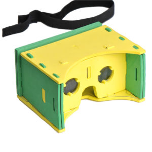 Easy Portable Plastic Virtual Reality Google Cardboard 3D Glasses pictures & photos