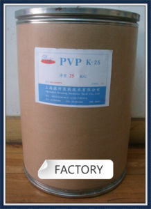 Chemical Cosmetics Raw Materials Pvp-K25 pictures & photos