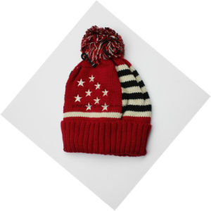 Country Flag Winter Warm Acrylic Knitted Beanie Skull Hat/Cap