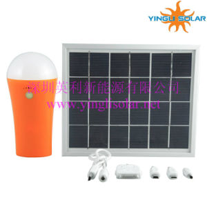 2015 Hot Sale Portable Solar Light with Mobile Charger pictures & photos