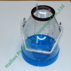 SGS Certificate Plastic Clear Bucket with Handle pictures & photos