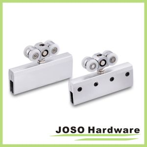Frameless Sliding Door Hardware Zinc Door Roller (BA5005B) pictures & photos