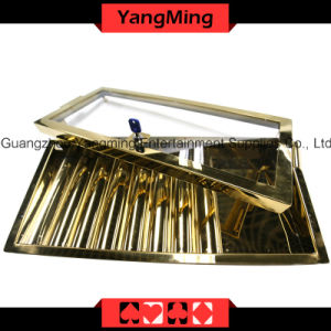 Bright Gold Chip Tray (YM-CT13) pictures & photos
