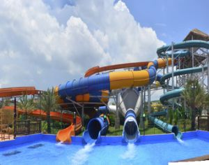 Barrel Roll, Huge Water Slide