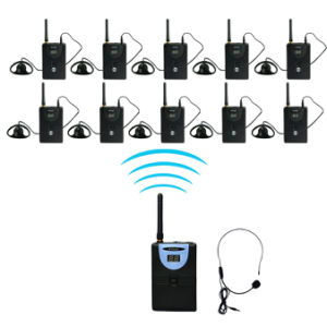 2.4GHz Wireless Simultaneous Translation System (1 transmitter and multipy receiver)) pictures & photos