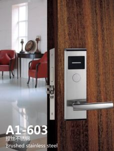 High Quality Electronic Hotel Card Lock for Hotels pictures & photos