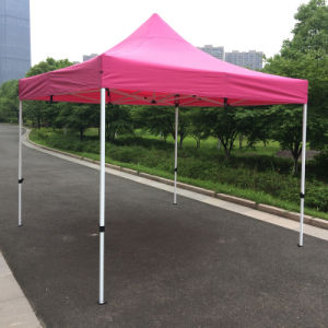 3X3m Pink Outdoor Steel Pop up Gazebo Folding Tent pictures & photos