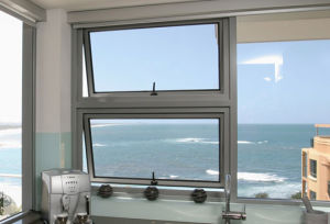 Topbright Aluminum Top Hung Awning Window for Sale pictures & photos