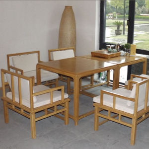 2015 hot sell bamboo chair set