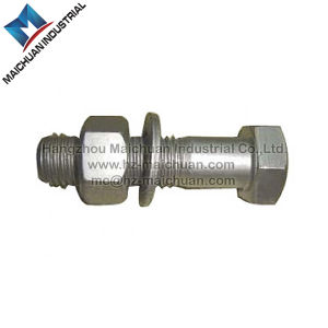 Carbon Steel Hex Head Bolt with Hex Nut and Washer