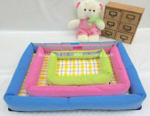 Bamboo Mat Pet House Quadrate Pet Bed pictures & photos