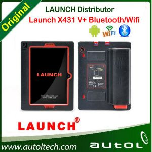 Original Launch X431 V Plus, Global Version Launch X431 V+ Scanner with WiFi/Bluetooth Full System Diagnostic Scanner pictures & photos