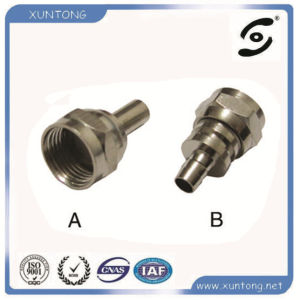 F Connector for RF Coaxial Connector 7/8 Cable pictures & photos