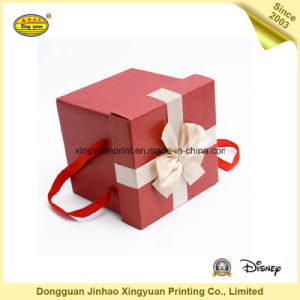 Packaging Paper Gift Box with Ribbon (JHXY-PB0009)