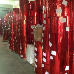 Factory Manufacture Wholesale Pet Glitter Film (B0306)