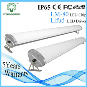 IP66 30W 5000k LED Tri-Proof Tube Light