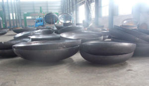 Customized Carbon Steel Ellipsoidal Head/Dish End for Pipe Fittings and Pressure Vessels