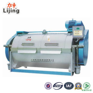 2016 Newly Designed Stainless Steel Industrial 100kg Semi Automatic Washing Machine for Laundry Machine pictures & photos
