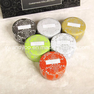 Various of Pure Soy Wax Aroma Tin Candles