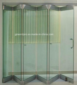 China Frosted Gl Frameless Sliding