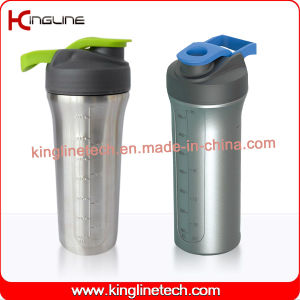 800ml Stainless Steel Protein Shaker (KL-7072) pictures & photos
