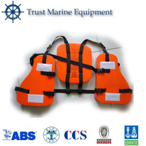 Three Pieces PVC Foam Working Life Jacket pictures & photos