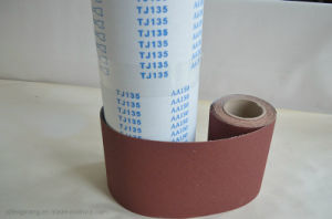 Machine Use Aluminum Oxide Abrasive Cloth Tj135 pictures & photos