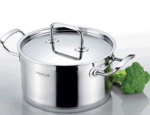 Food Quality Big Size Stainless Steel Cookware