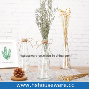 225 & Narrow Mouthed Clear Bud Mini Glass Flower Vase