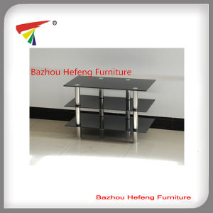 China Hot Sale 3 Tier Glass Tv Stand Tv018 China Tv Stand Glass