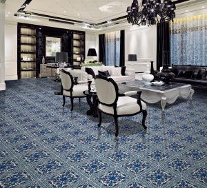 Blue Pattern Rustic Pattern Porcelain Tiles (AJMK6530)